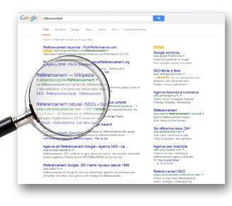 Audit de référencement de site web